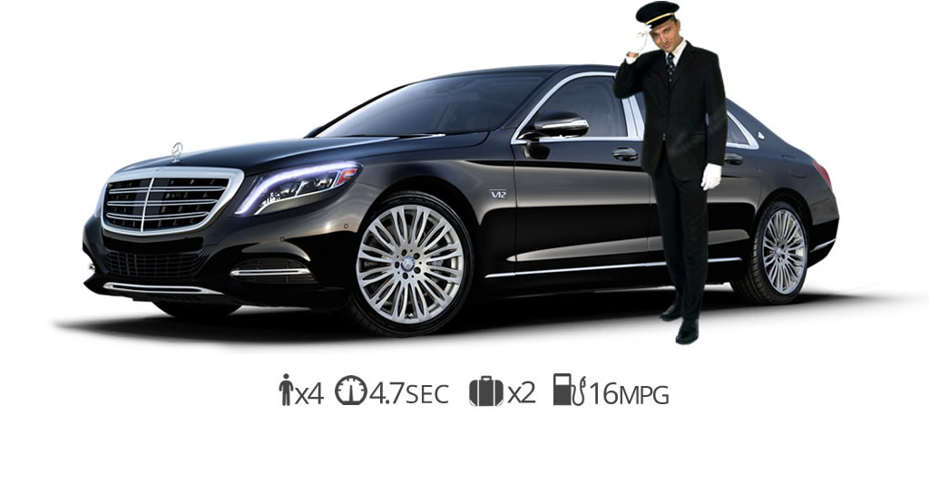 rent Mercedes s600 Maybach Chauffer rentals