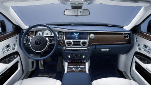 Rent a Rolls Royce Ghost Extended Interior