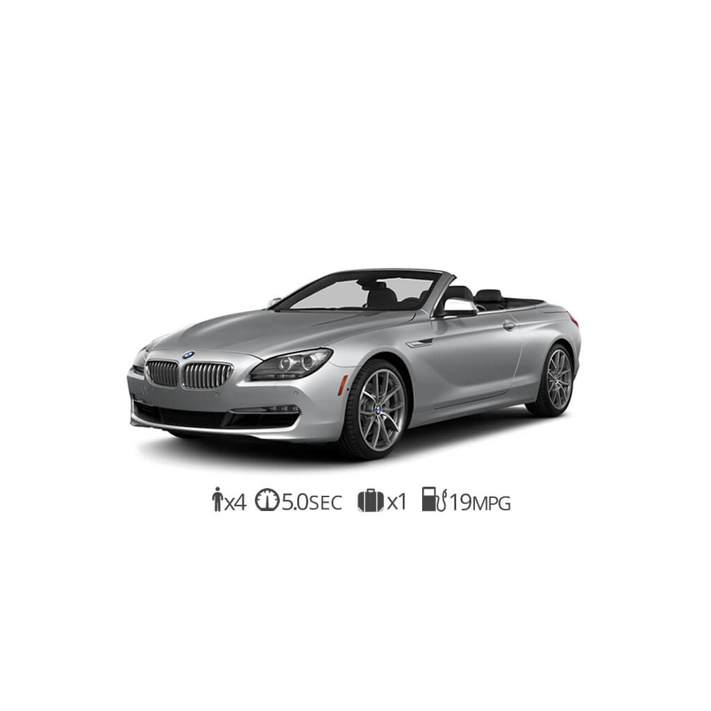 Rent BMW 650 Convertible New York At Luxury Car Rental USA