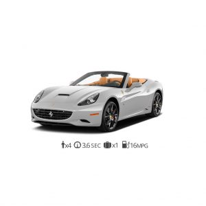 rent Ferrari California