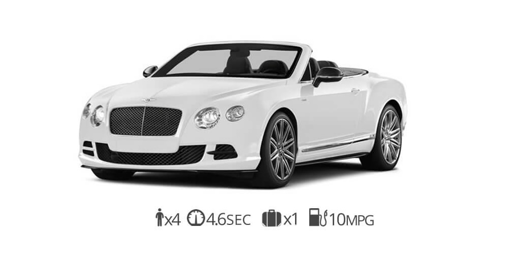 Bentley GTC Rental Vegas