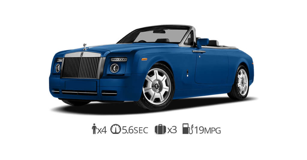 Rolls Royce Drophead rental San Francisco