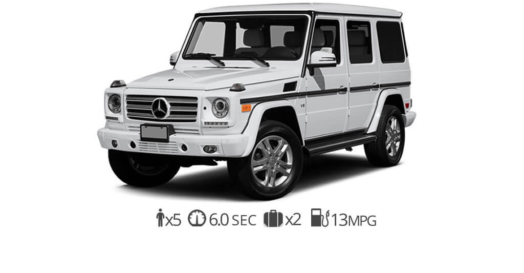Mercedes G550 Rental Miami