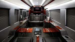 mercedes sprinter black interior