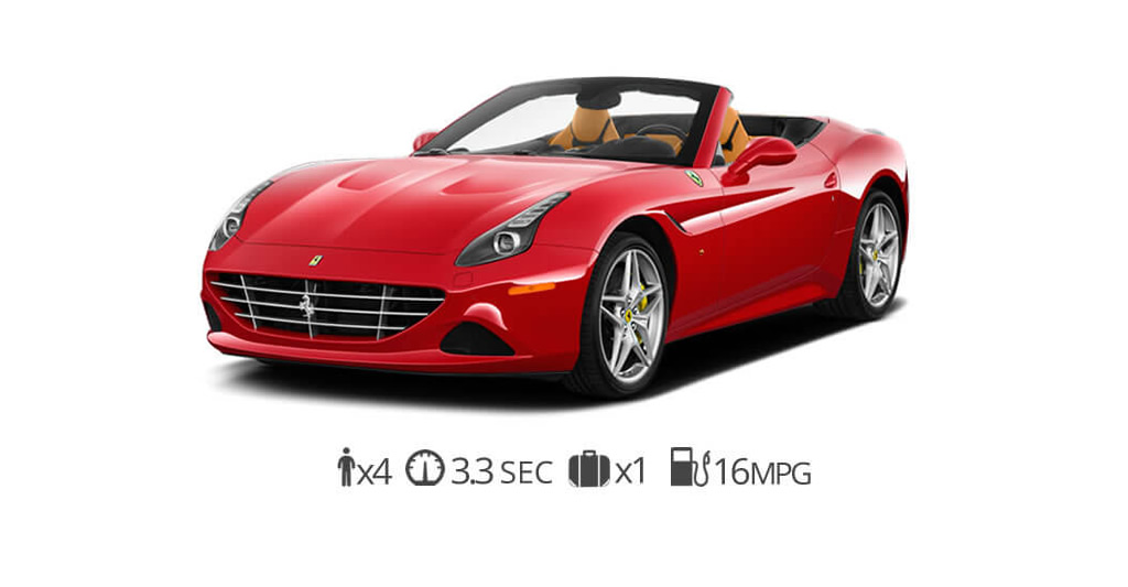 Ferrari California T rental Miami