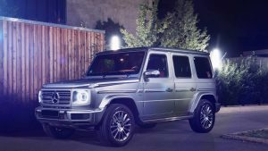 Mercedes G wagon front slide
