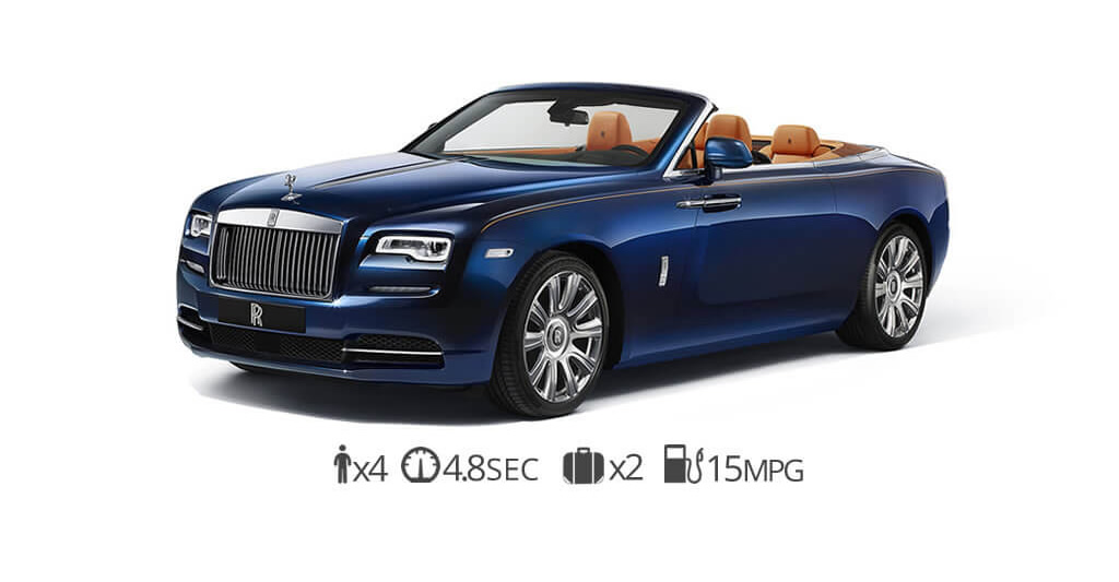 Rolls Royce Dawn Rental Long Island New York