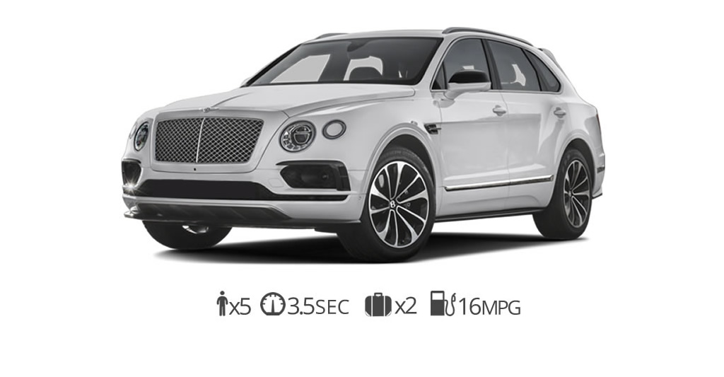 rent Bentley Bentayga rentals