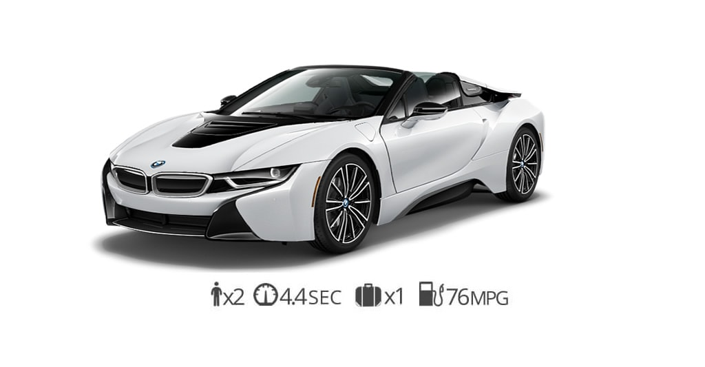 BMW i8 roadster rental