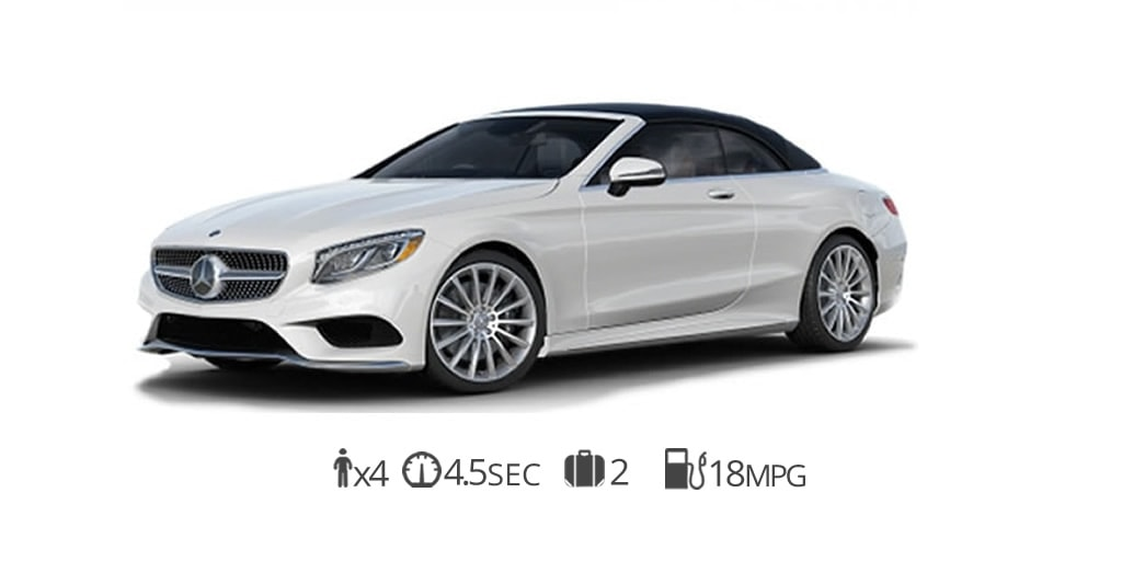 Mercedes s550 Cabriolet rental Miami