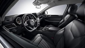 Mercedes-Benz GLE 63 rental interior