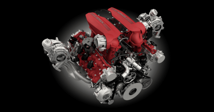 488 spyder engine