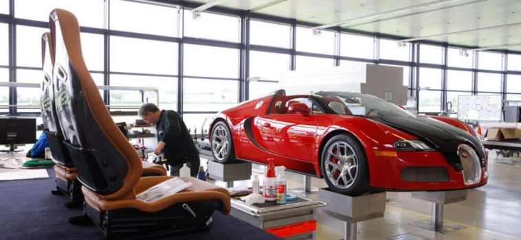 How the Bugatti Veyron is made