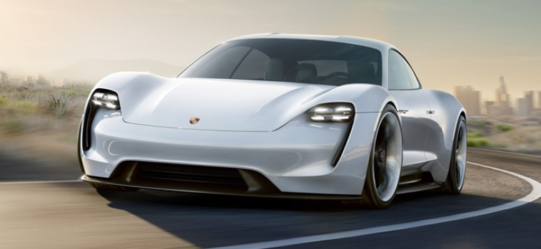 The new All-Electric Porsche