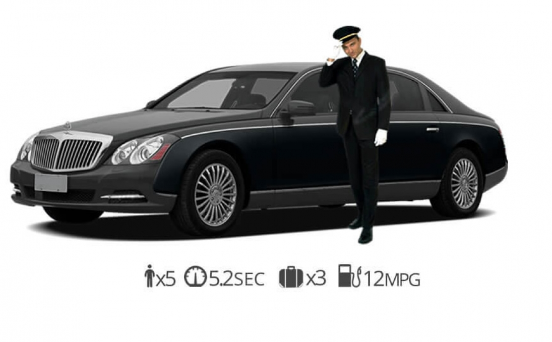 rent Maybach 57 Chauffeur Service rentals