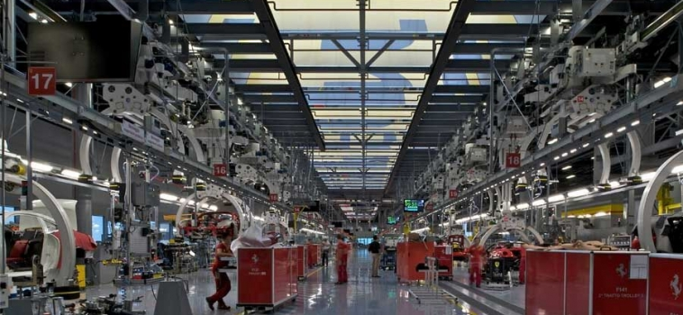 A Tour of the Ferrari Manufacturing Factory