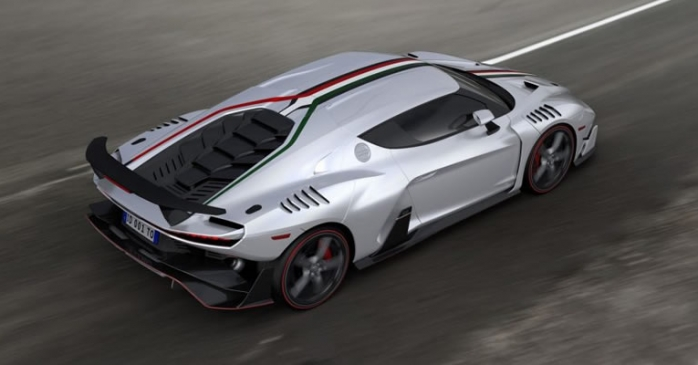 Italdesign Zeruno top