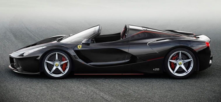 The LaFerrari Aperta
