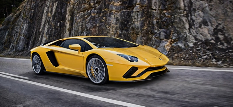 The New Lamborghini Aventador S