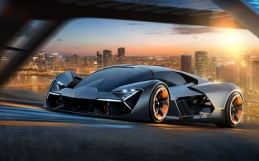 Lamborghini and MIT collaborate on the Terzo Millennio Hypercar.