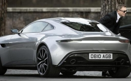 James Bond's 2016 Aston Martin DB10