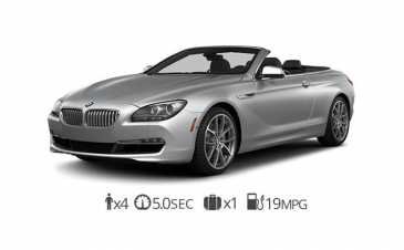 rent BMW 650 Convertible rentals
