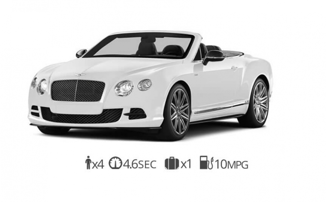 rent Bentley Continental GTC rentals