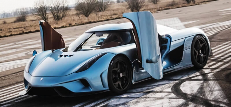 First look at the Koenigsegg Regera