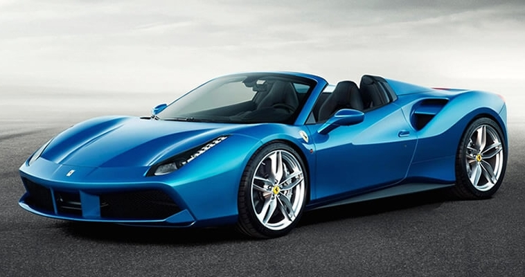 The 2016 Ferrari 488 Spider