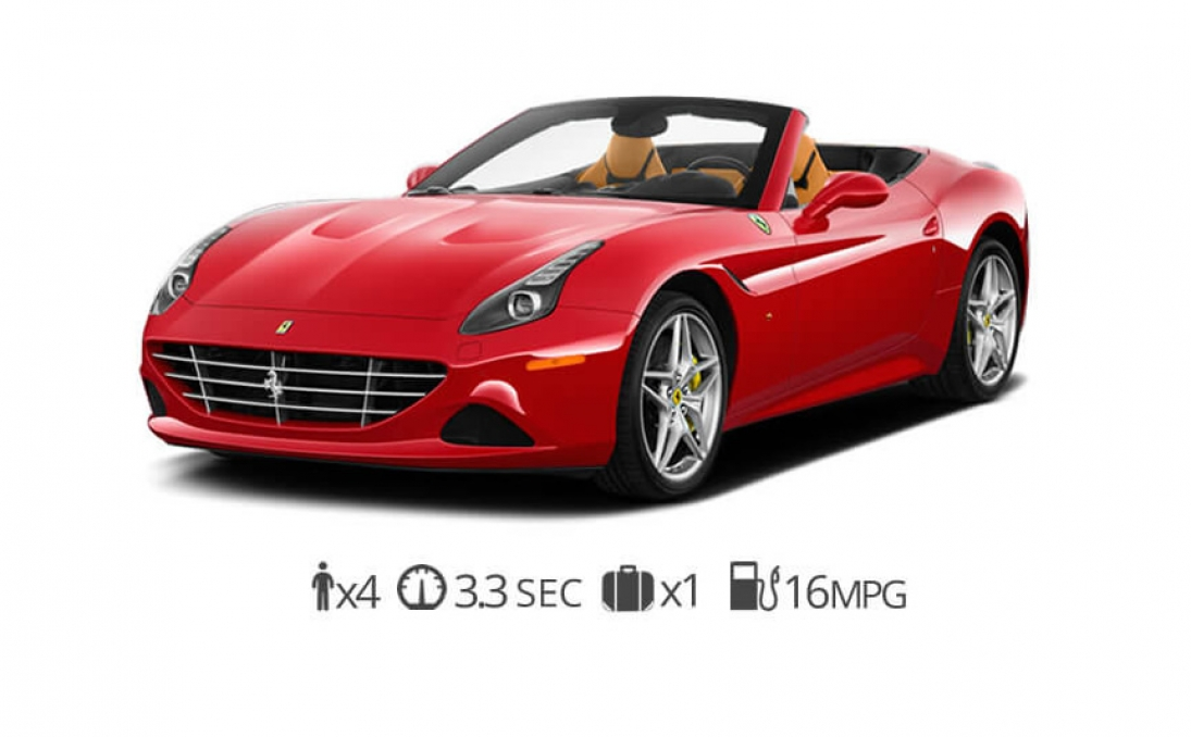 rent Ferrari California T rentals