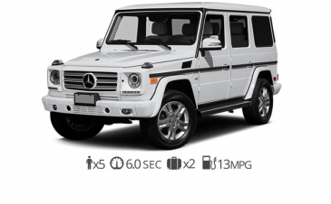 rent Mercedes Benz G550 rentals