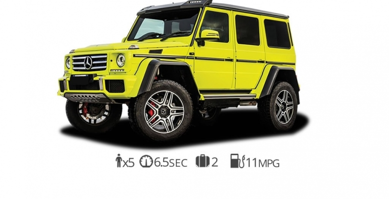 Mercedes G550 Squared