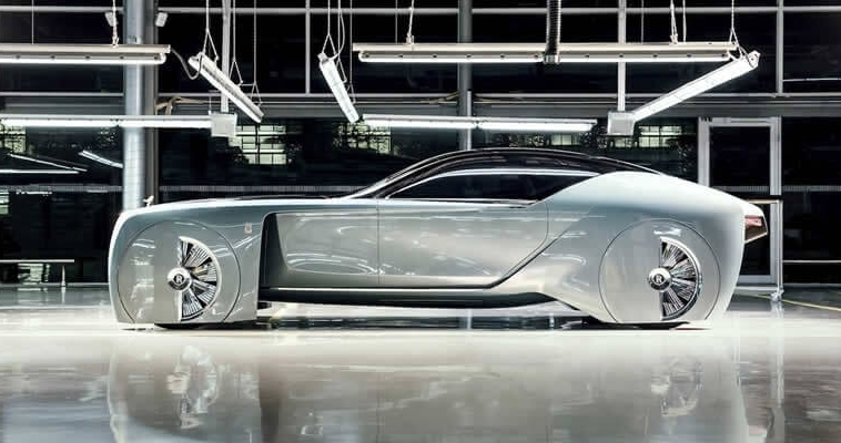 The most futuristic Rolls-Royce 103EX | Vision Next 100